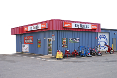 Bay Equipment Rentals: Lower Sackville