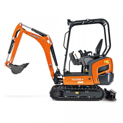 Excavators KX018