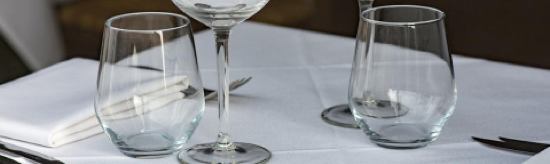 Glassware for rent