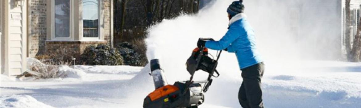 Husqvarna snow blower for rent