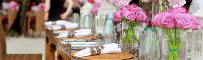 Wedding supply rental
